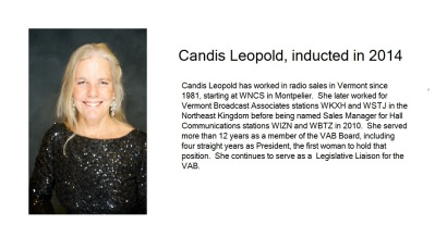 candis leopold hall of fame slide