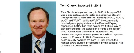 Cheek hall of fame