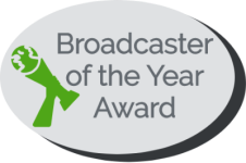 Broadcaster of the Year award logo