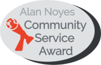 Community Service award logo