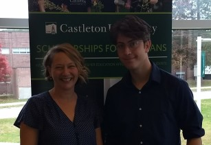 Ian Shalek Castleton scholarship winner crop